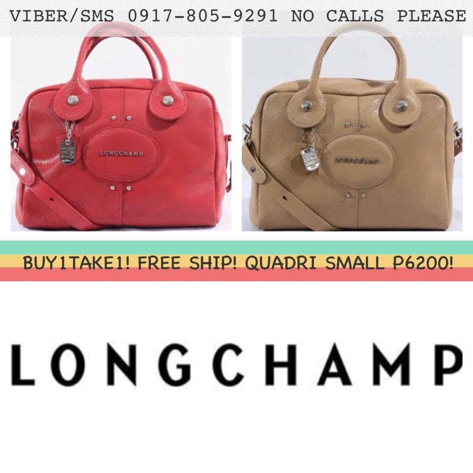 Longchamp Quadri Medium Handbag Shopee Philippines Quadry Bag