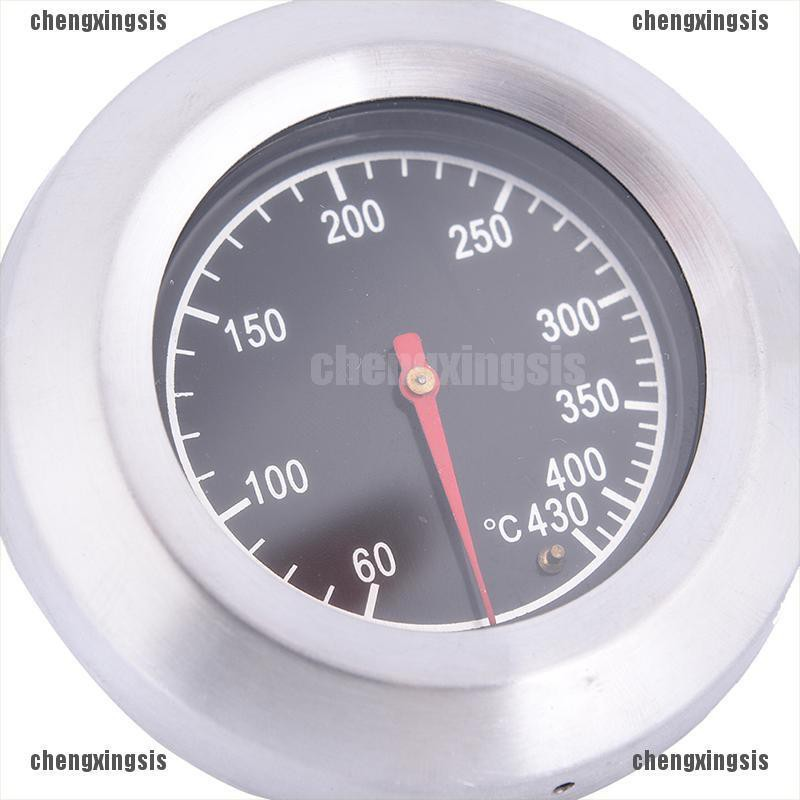 60-430℃ Stainless Steel BBQ Barbecue Smoker Grill Thermometer Temperature Gauge