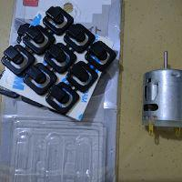 DC 3-36V 4500-25500RPM Brush Motor Strong Magnetic Robot High Speed Motor