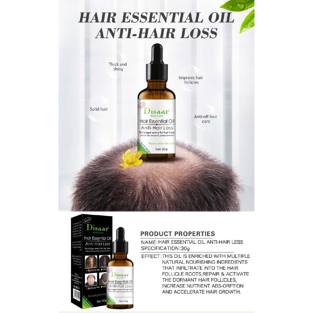 Moon Disaar Fast Powerful Hair Growth Essence Products Essential Oil Treatment Preventing Hair Loss Shopee Philippines