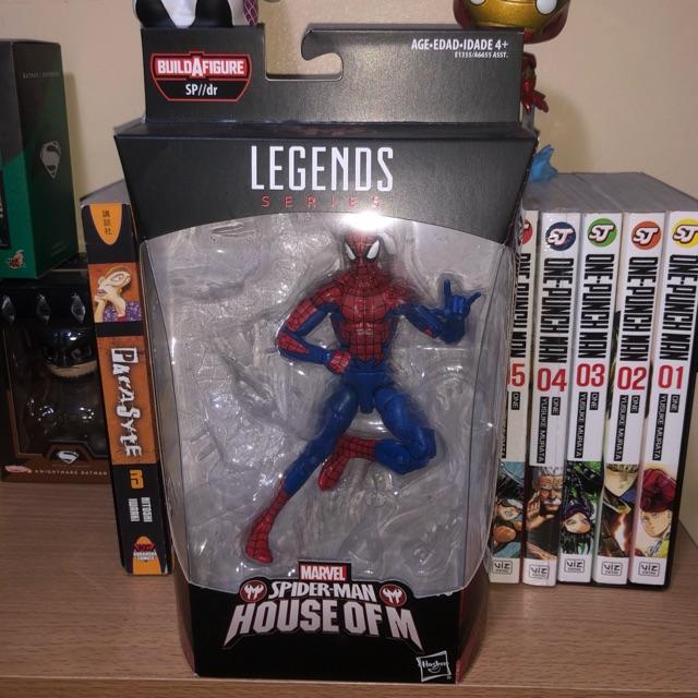 Marvel Legends House of M Spider-man Removed BAF Mint TCA
