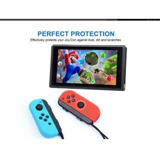 new concept 7bfdd 55642 Joy-Con Gel Guards Silicone Cover Case for Nintendo Switch | Shopee ...