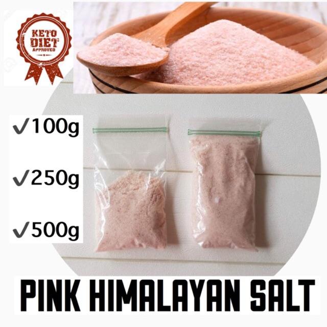 COD PINK HIMALAYAN SALT FOR KETO/LOWCARB DIET
