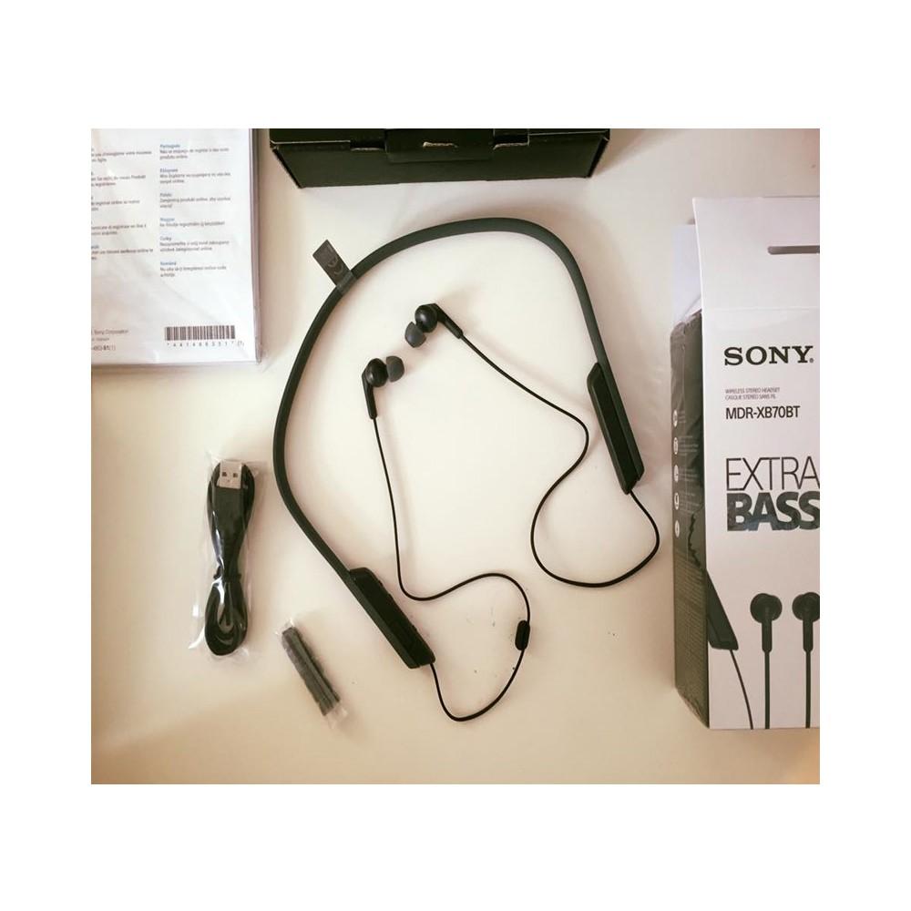Sony Mdr Xb70bt Extra Bass Wireless In Ear Headphone Black Earphone Bluetooth Shopee Philippines