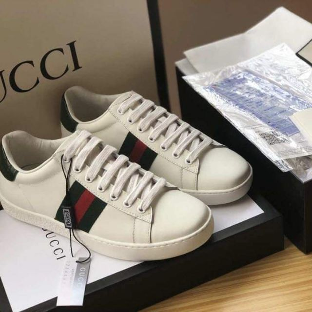 e66c2bfbf Gucci Ace Sneakers Shoes | Shopee Philippines