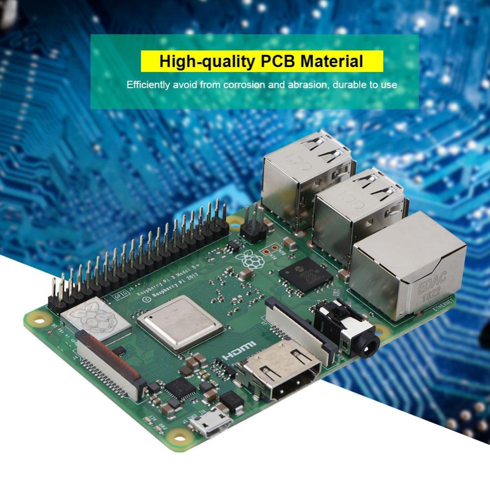 2018 Raspberry Pi 3 Model B+B PLUS Quad Core1 4GHz 64bit CPU
