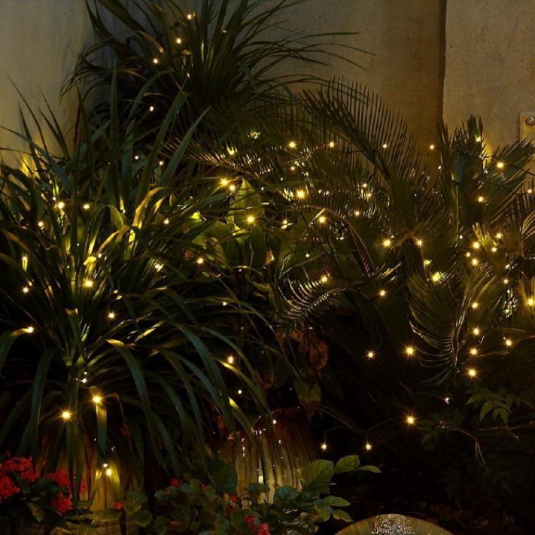 info for bc3b8 719ff 50 LED Solar Powered String Light Garden Fairy Lamp 4.5M