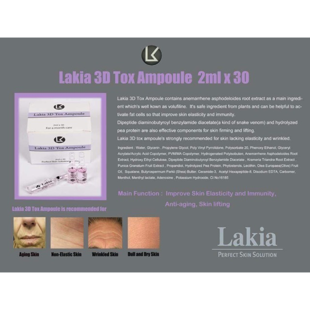 Lakia Perfect Skin Solution