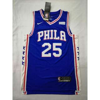 differently 3320d 9fe88 Philadelphia 76ers 25 Ben Simmons Swingman Basketball Jersey