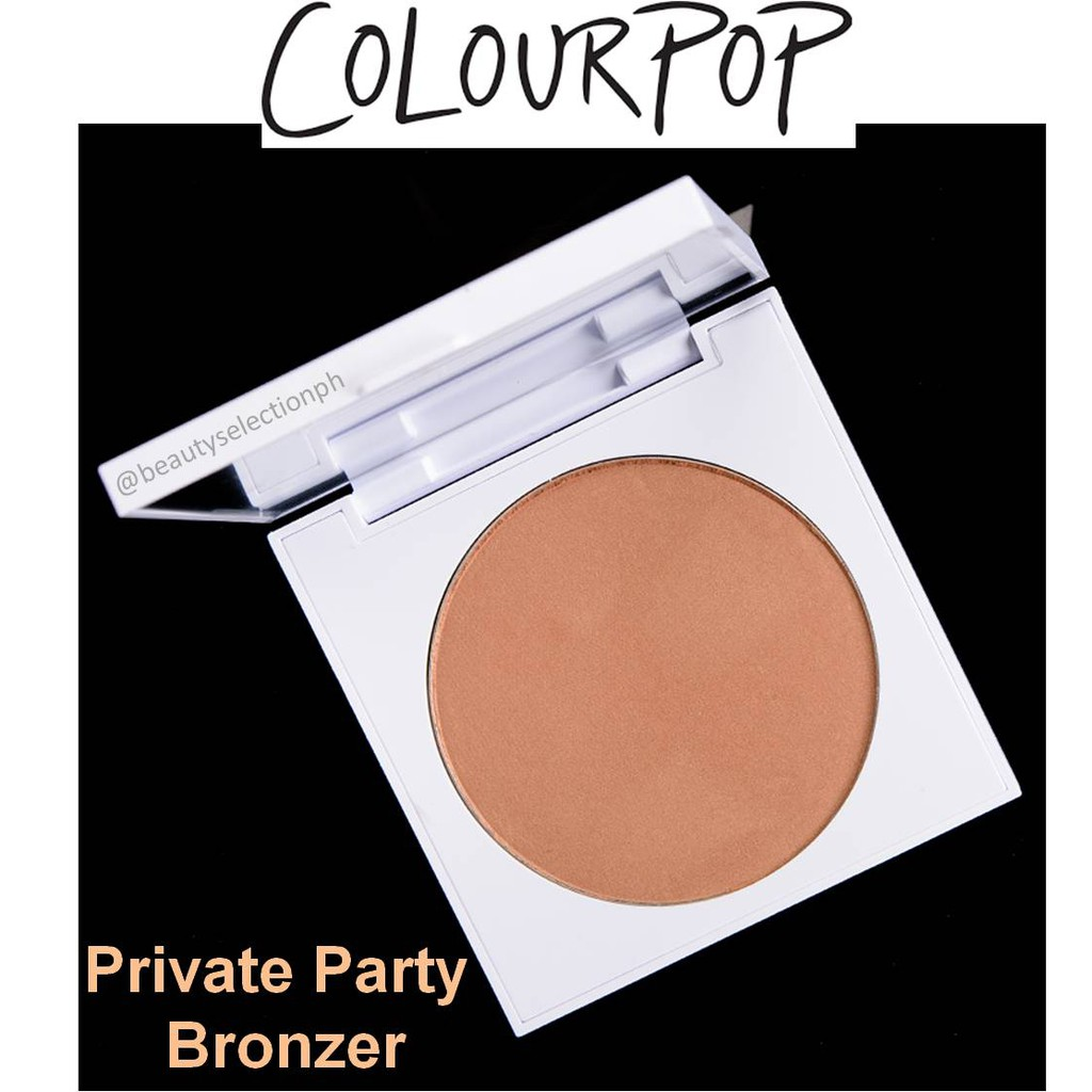 ColourPop Private Party Bronzer | Shopee Philippines