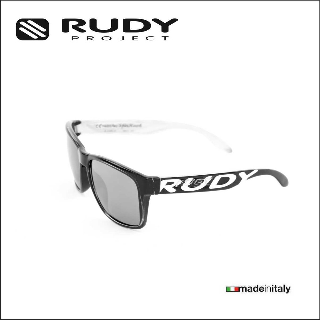 23ac00f126 Rudy Project Spinhawk Eyewear in Black with Orange Lenses