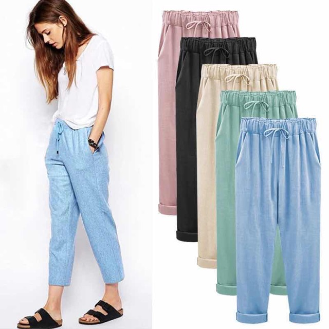 really comfortable classic style of 2019 best sell YourFans # 6320# square harem pants volume