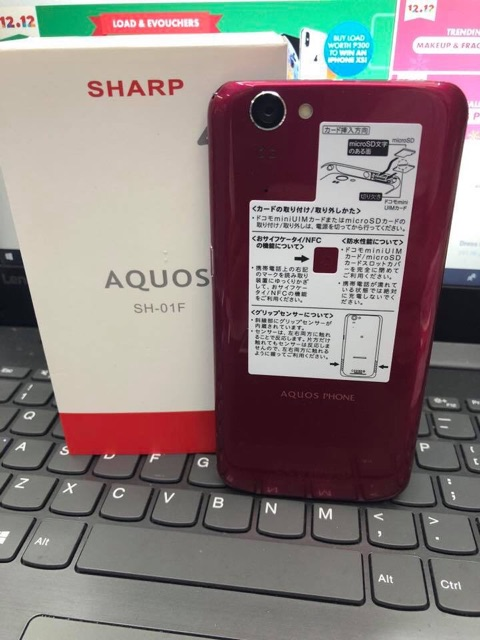 Sharp 4G Original Japan SmartPhone SH-01F | Shopee Philippines