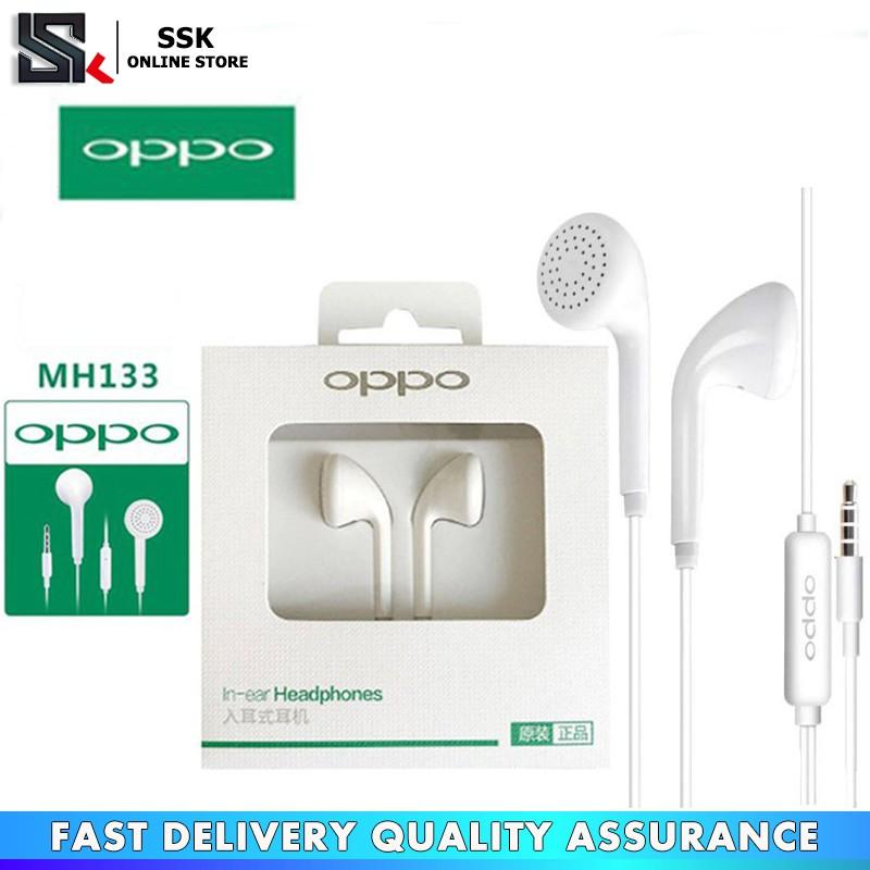 Original OPPO MH133/R9 In-Ear Music Headphone HIFI BASS