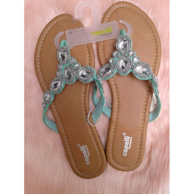 fd91bff1da63 Capelli new York Mint Sandals Size 9