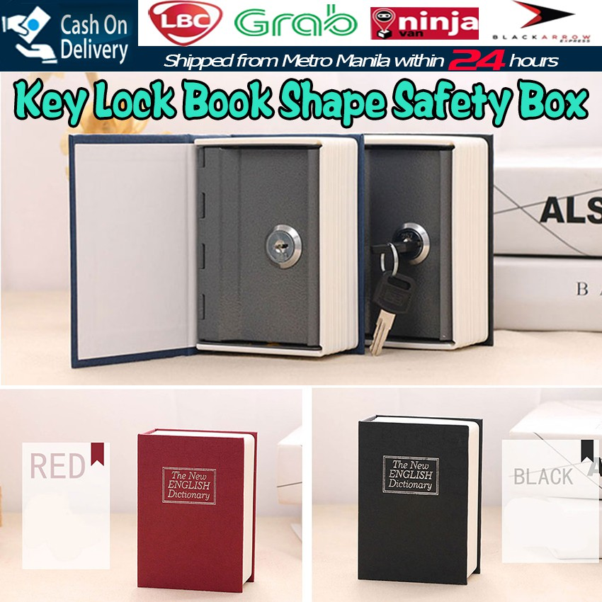 022d58962939 S Size Secure Hidden Dictionary Stash Money Box Storage Books Safe With Key