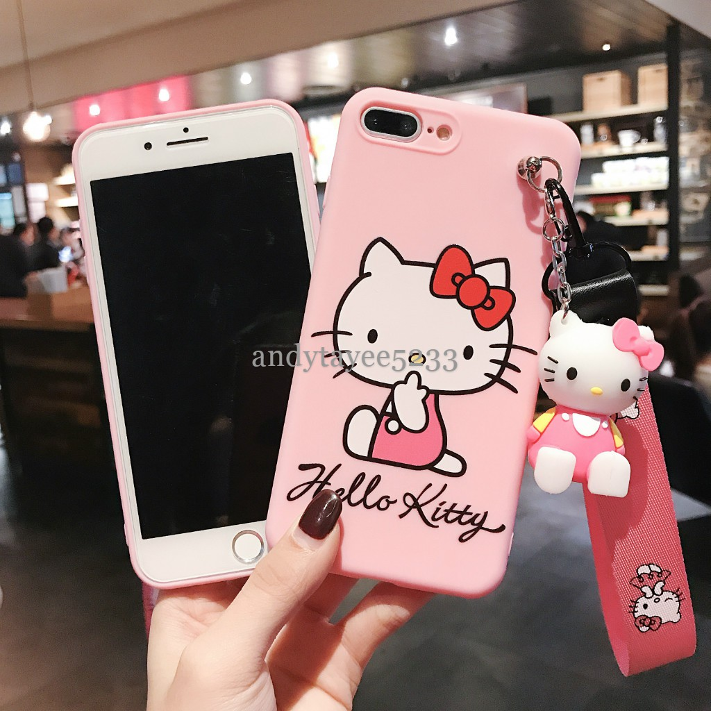 iPhone 6 6s 7 8 Plus X XR XS Max Hello Kitty Soft TPU Case
