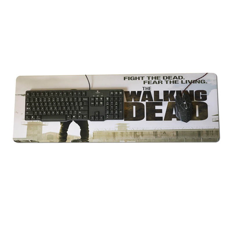 The Walking Dead Wallpaper Optical Mouse Anime Mouse Pad Shopee Philippines