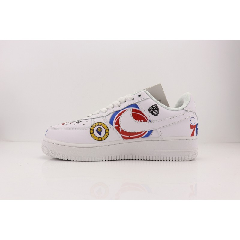 uk availability 4291b 58fbe Supreme x NBA x Nike Air Force AF1 high-top casual shoes