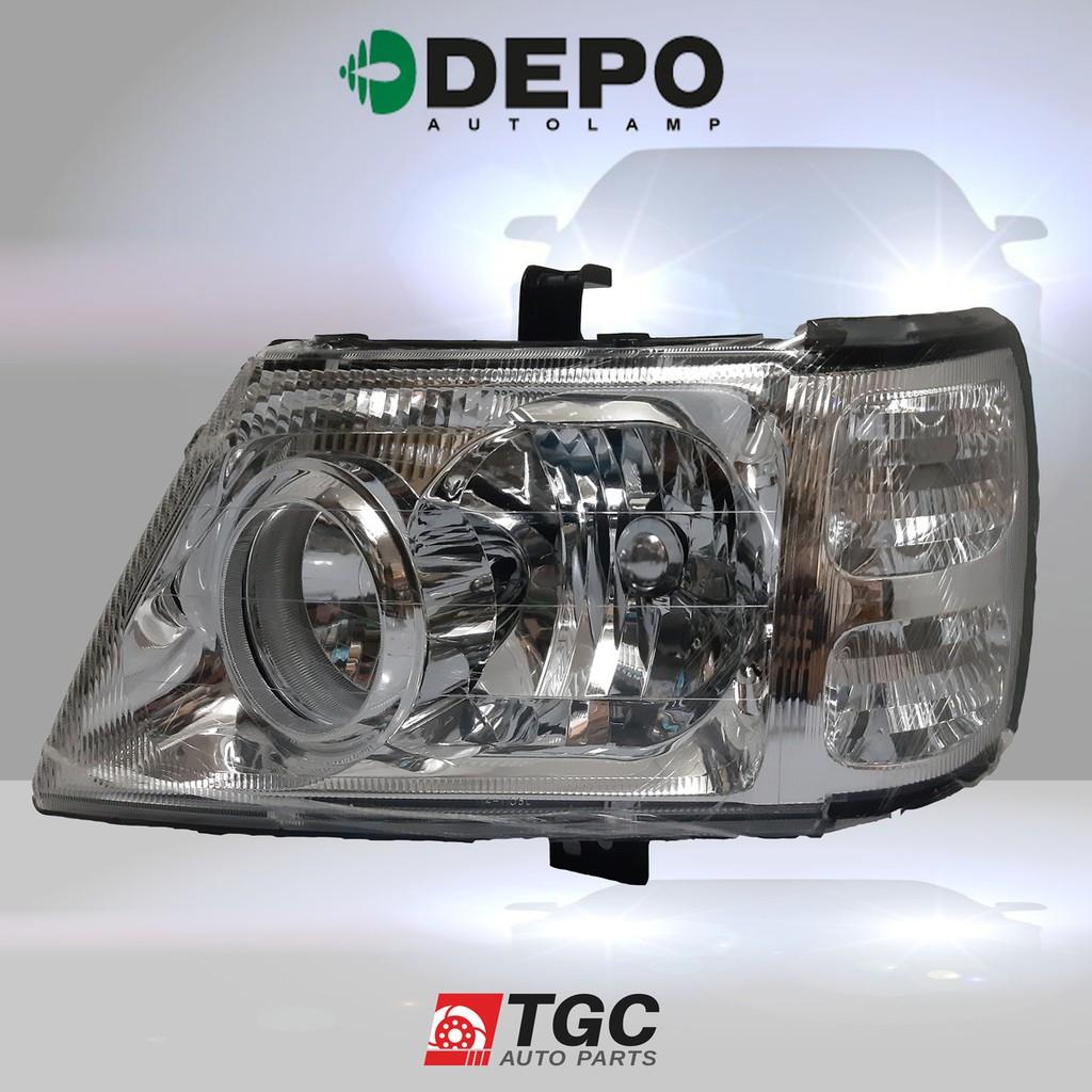 Depo Headlight 114 1106l Ld Left