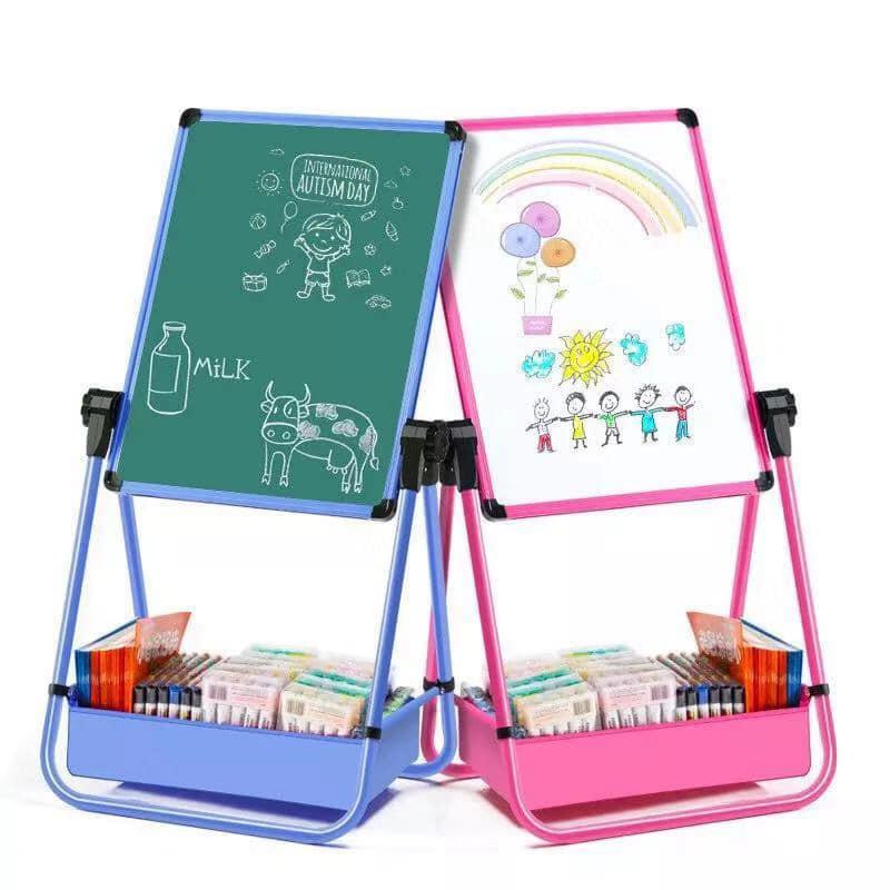 2 In 1 Whiteboard Blackboard Kids Easel