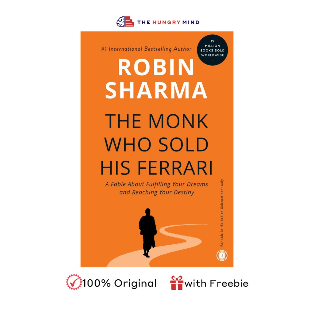 The Monk Who Sold His Ferrari By Robin Sharma 100 Authentic With Freebie Shopee Philippines