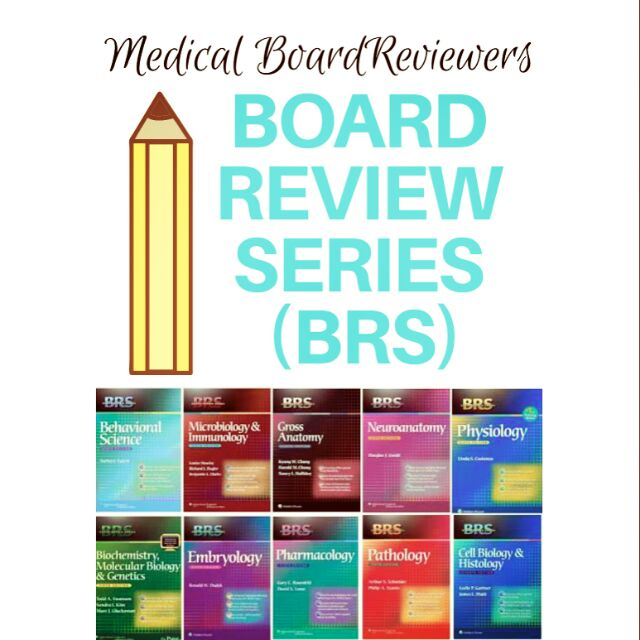 BRS (Board Review Series) I [Medical Board Reviewer]   Shopee ...