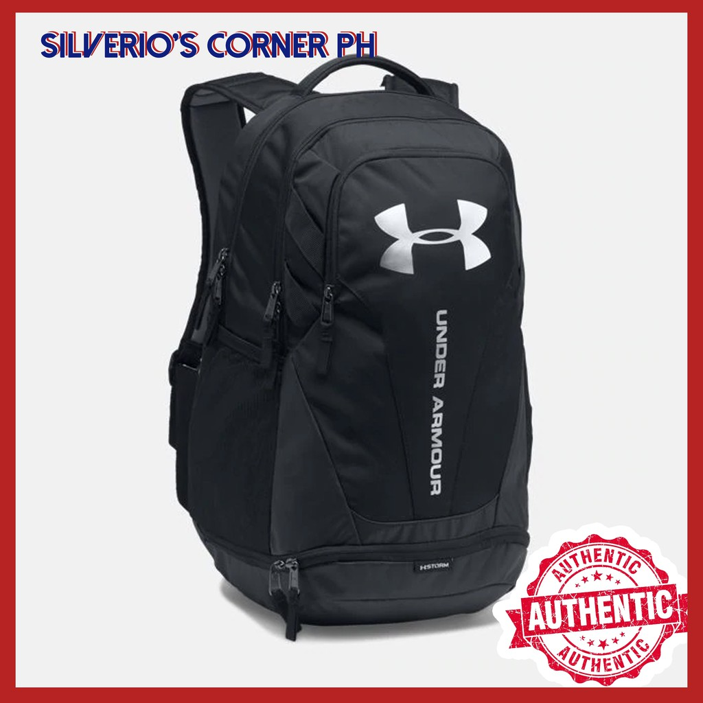 818945d3d71 MKS Under Armour Storm Hustle II Backpack Gray   Shopee Philippines
