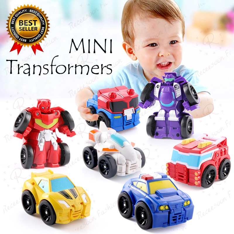 Transformers Toys Action Figures Optimus Prime Robots Cars Plane Kids Gift