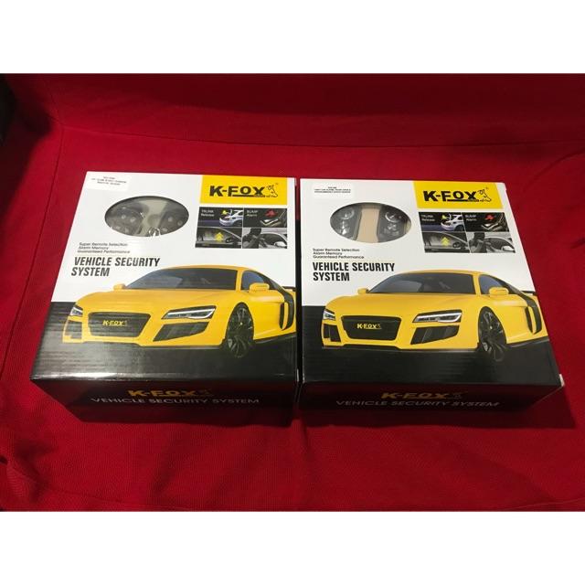 Kfox Car Alarm