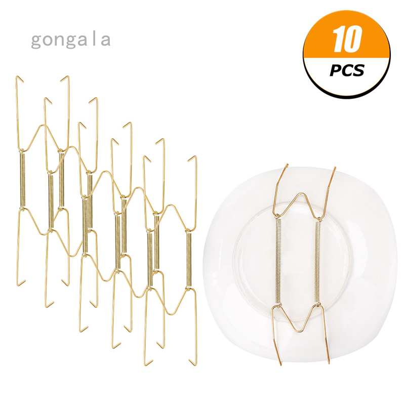 10 Pcs Small Size Invisible Wall Plate Hanger Decorative Dish Display Holder W Shape 8 Inches Shopee Philippines