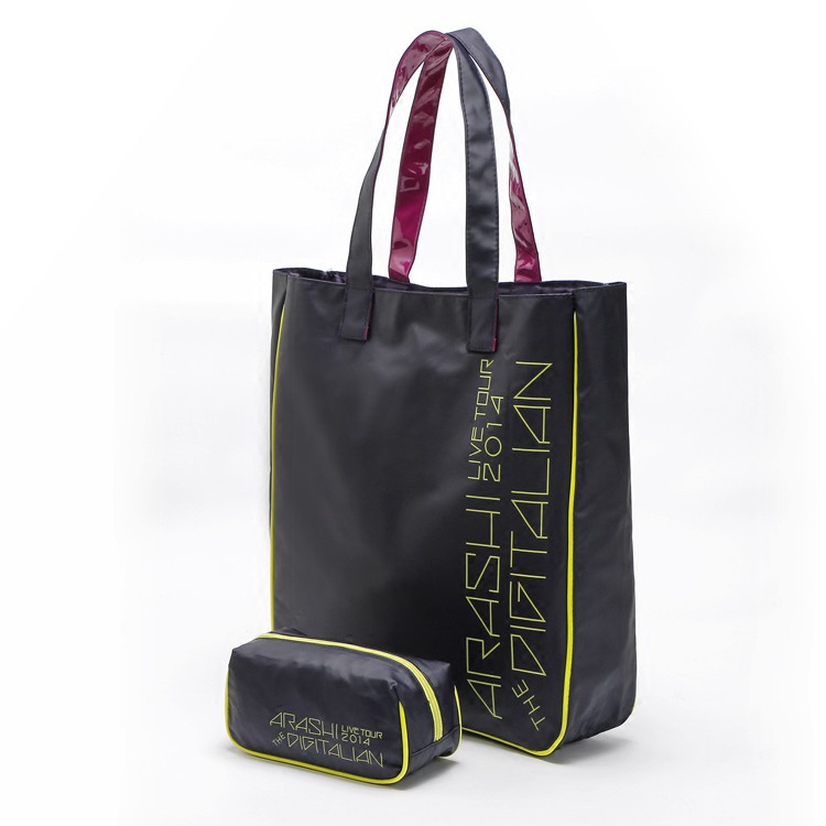 2 PCS Oxford Waterproof Bag ARASHI Casual Bag Large Bag