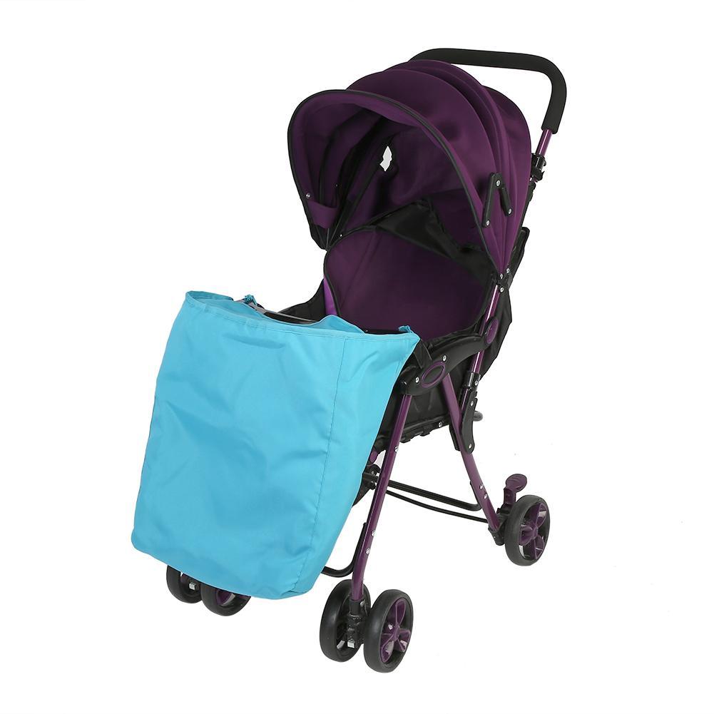 Universal Baby Stroller Footmuff with Cotton Interlayer/Newborn Pram Infant Pushchair Windproof Soft Warm Foot Cover for Winter Outdoor Tour Black