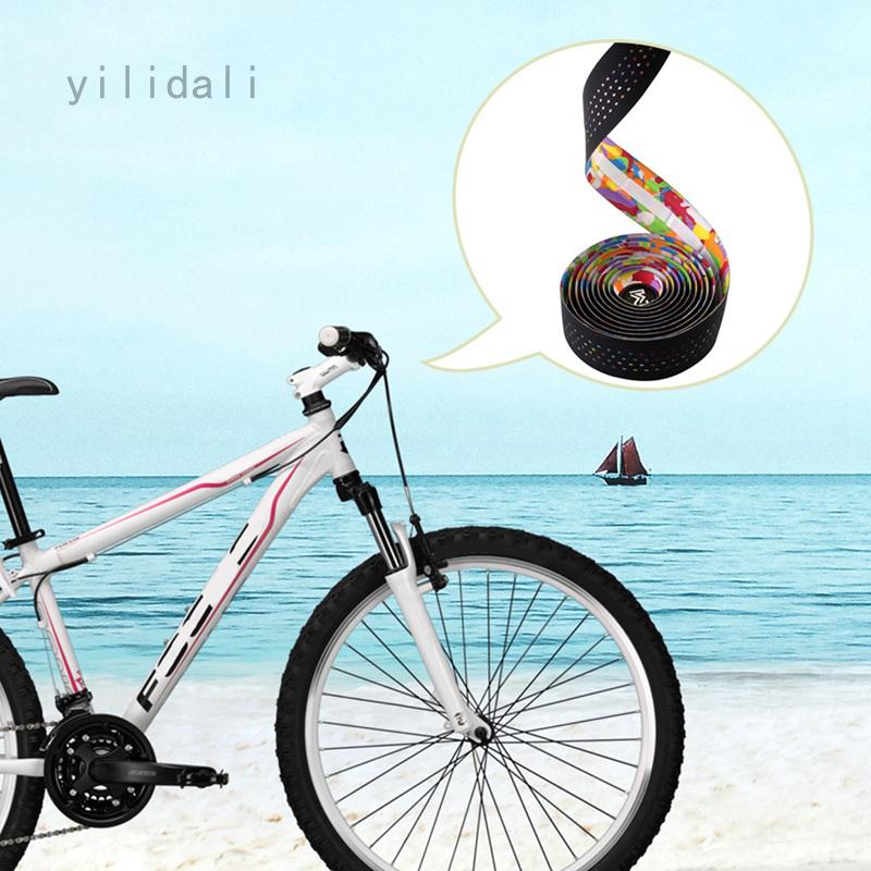 ZTTO Road Bicycle Bike Handlebar Drop 2 Bar Tape Wrap Cork Cycling Carbon Fiber
