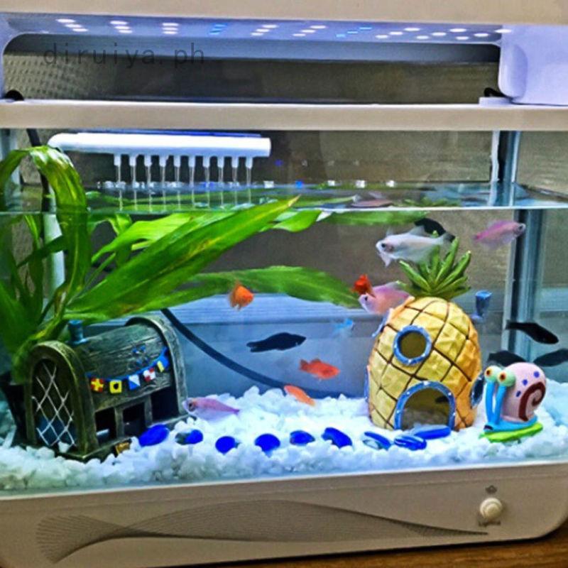 House Fish Tank Aquarium Ornament