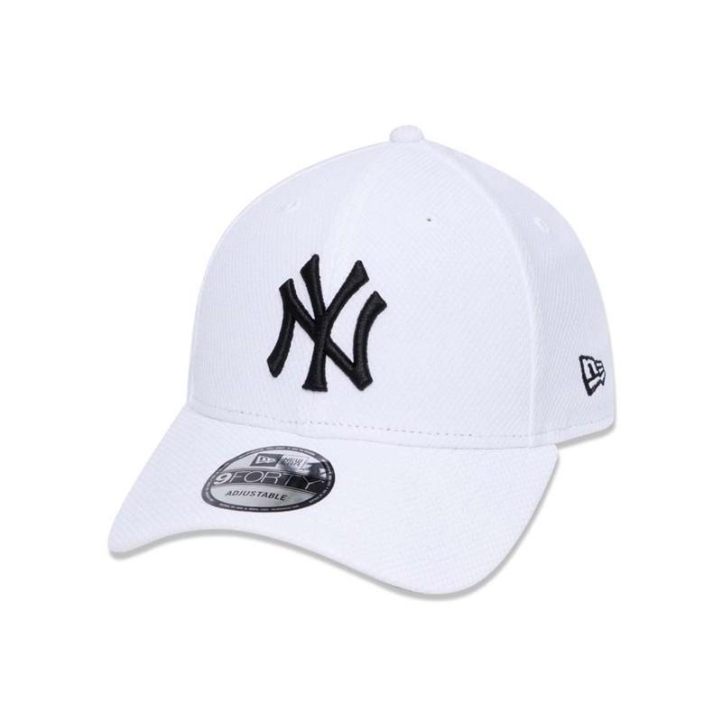 new york the sale of shoes best website New Era New York Yankees MLB Diamond Era White 9FORTY Cap | Shopee ...