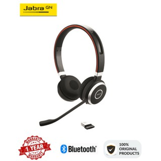 Jabra Evolve 65 Ms Stereo Professional Wireless Headset With Jabra Link 370 Shopee Philippines