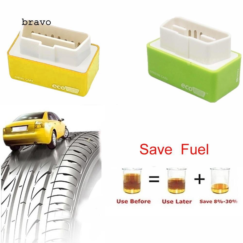 Chip Tuning Box Diagnostic Instrument Fuel Saver EcoOBD2 Economy Car Vehicle Chip Tuning Box Gas Diesel Plug Drive Fuel Save ecofuel chip for Cars