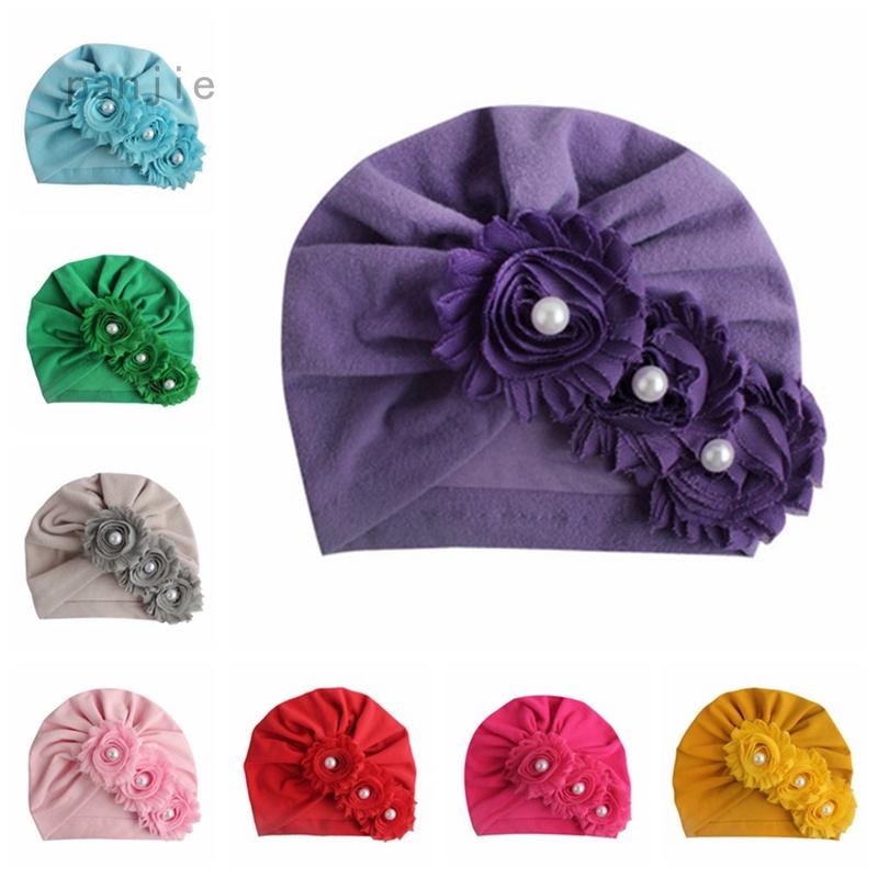 Kids Baby Turban Head Wrap Hat Children Girl Rabbit Ear Cap Bow Winter Warmer LC
