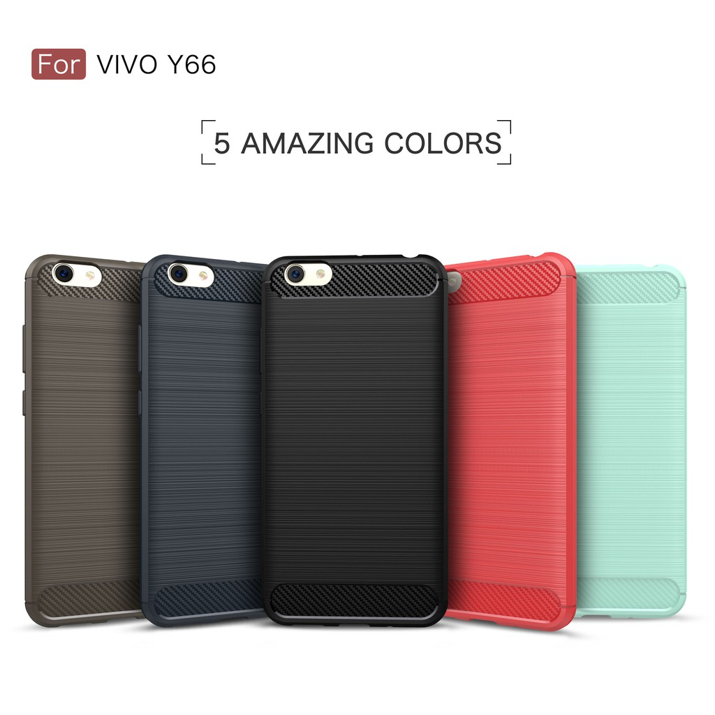 For Oppo A37 Carbon Fiber Soft Silicone Jelly Case Shopee Philippines