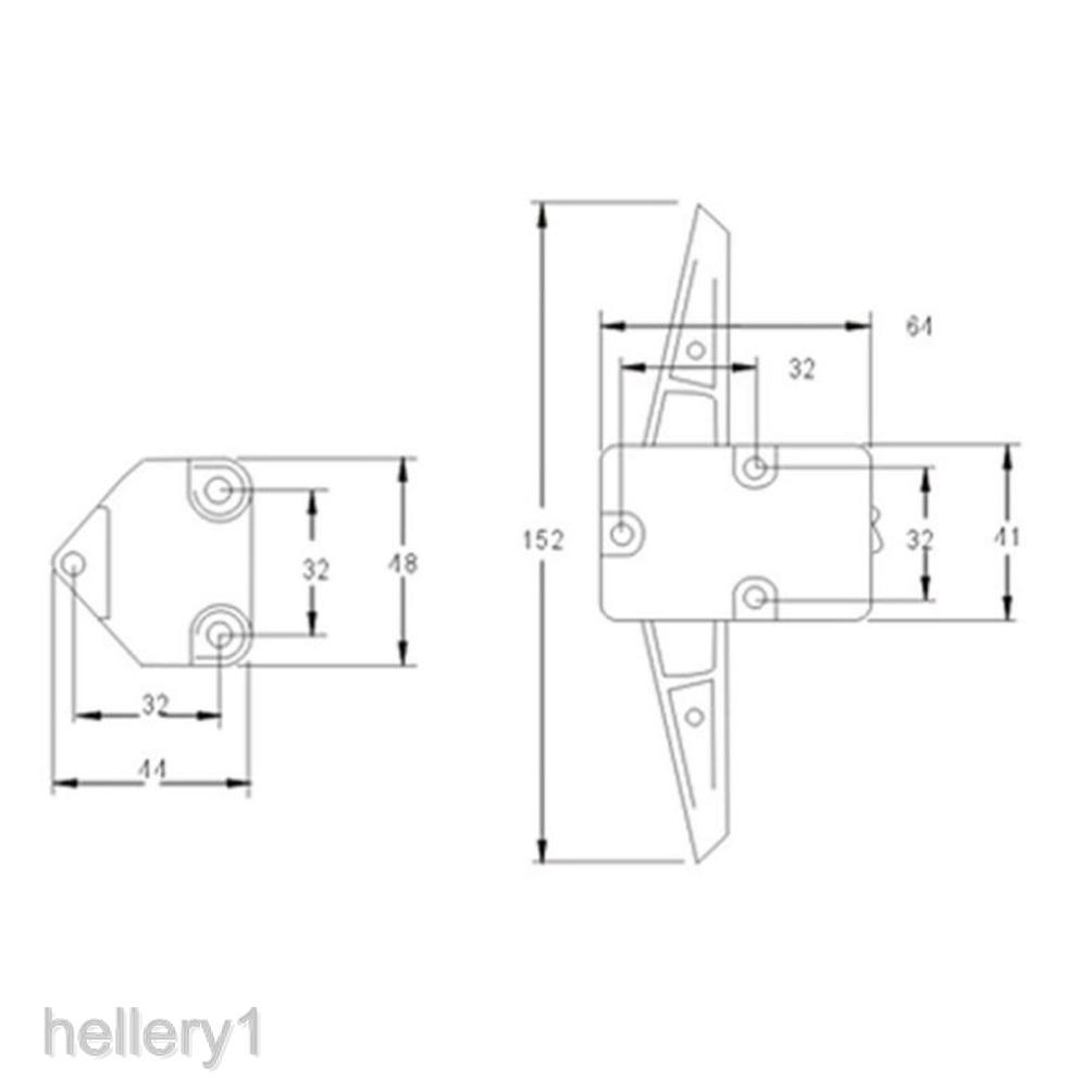 1 Kenlin rite-trak ii equivalent Replacement Guide plastic dresser drawer stop