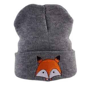 b02b88256 WARM♫Baby Winter Cotton Beanie Hat Girls Boys Cartoon Fox Infant ...