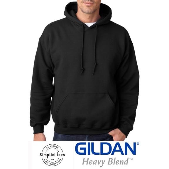 Gildan Cotton Heavy Blend Hoodie Black