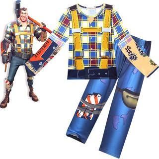half price wide range colours and striking Kids Boys Short Sleeve Sleepwear Summer Outfits Fortnite ...