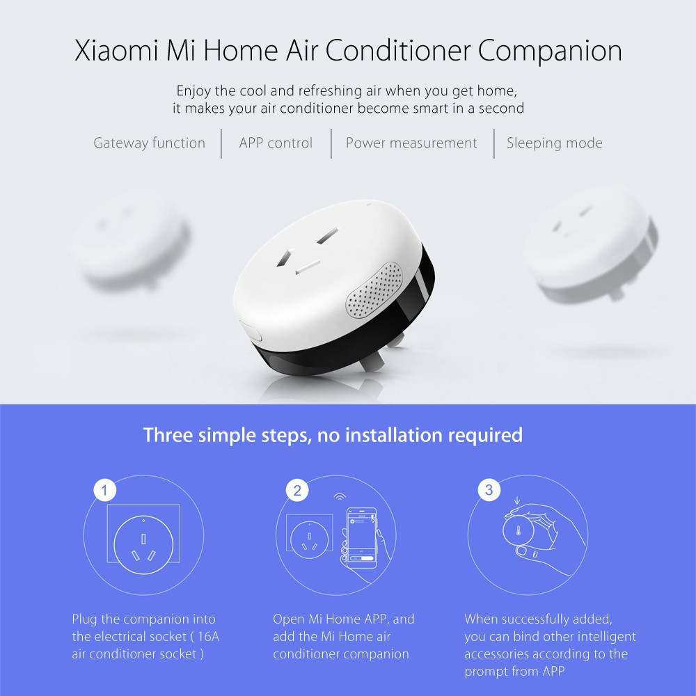 Xiaomi Mi Home Air Conditioner Companion APP Control WiFi