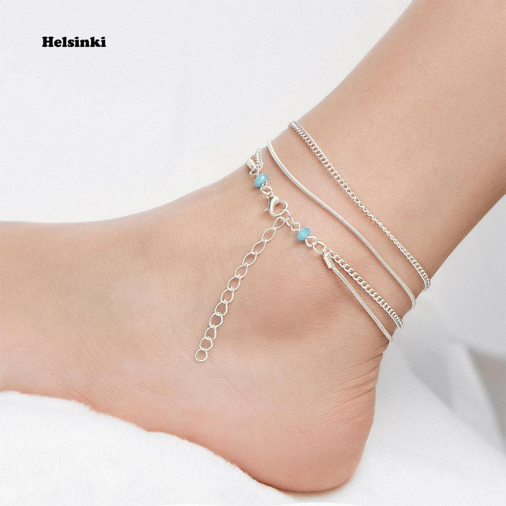 12 Constellation Anklet Ankle Barefoot Bracelet Sandal Beach Foot Chain Jewelry