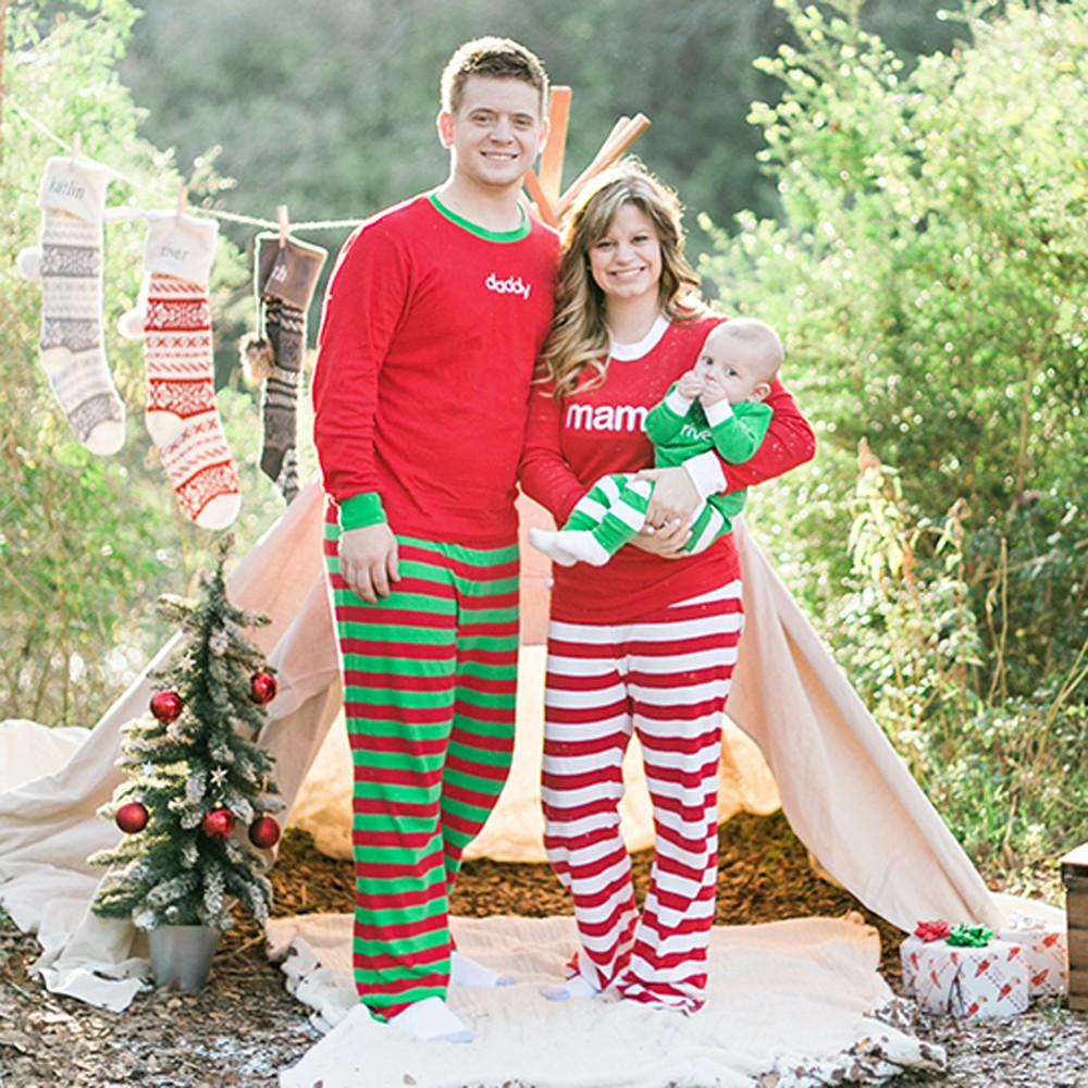 Family Christmas Pajamas With Baby.Tracymic Boys Girls Baby Family Christmas Pajamas Pjs Shirt Pants Sleepwear 2pcs Set