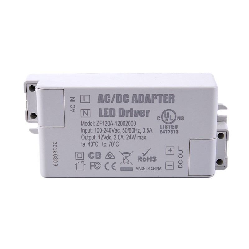 LED Driver Transformer  AC To  DC For Strip G4 MR11 MR16 Bulb Light