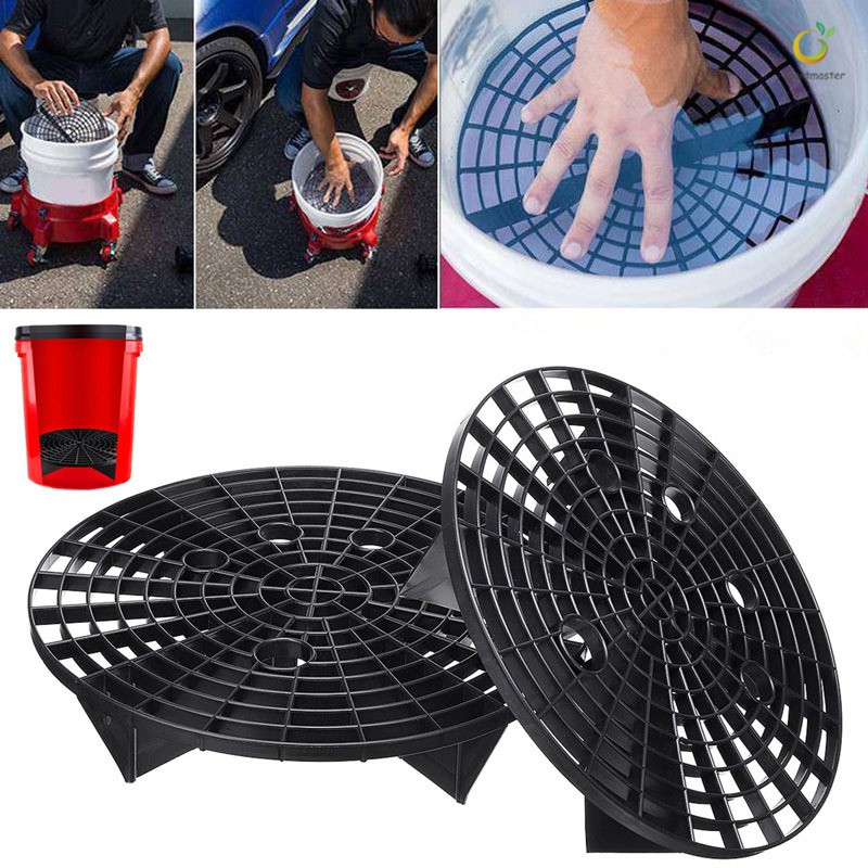 Back To Search Resultshome Flight Tracker Car Wash Grit Guard Bucket Insert Tool Separate Dirt While Washing Car Prevent Your Car From Scratches