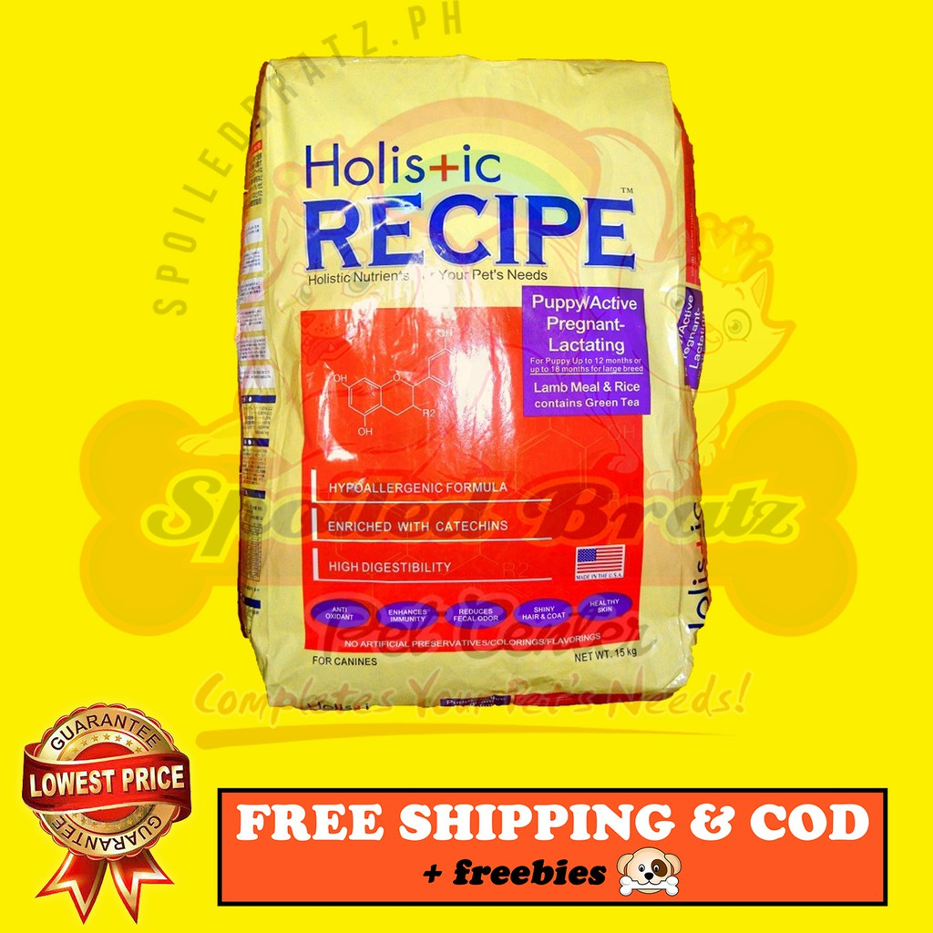 Holistic Recipe Puppy Dog Food LOWEST PRICE